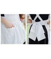 メイド ウェイトレス コスチューム コスプレ ハロウィン 仮装 衣装 4点セット XXLサイズ bwn1259-19