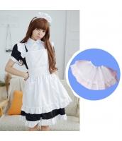 メイド ウェイトレス コスチューム コスプレ ハロウィン 仮装 衣装 4点セット Sサイズ bwn1259-4