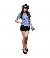 警官 婦警 ポリス 警察 制服 コスチューム コスプレ ハロウィン 仮装 衣装 3点セット Mサイズ bwn1262-1