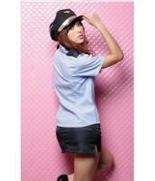 警官 婦警 ポリス 警察 制服 コスチューム コスプレ ハロウィン 仮装 衣装 3点セット XLサイズ bwn1262-3