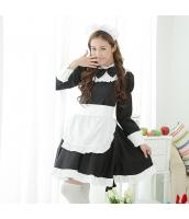 メイド ウェイトレス コスチューム コスプレ ハロウィン 仮装 衣装 4点セット bwn1270-1
