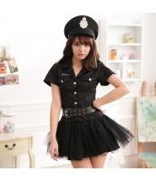 警官 婦警 ポリス 警察 制服 コスチューム コスプレ ハロウィン 仮装 衣装 3点セット bwn1273-1
