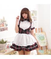 メイド ウェイトレス コスチューム コスプレ ハロウィン 仮装 衣装 4点セット bwn1280-3