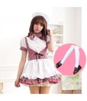 メイド ウェイトレス コスチューム コスプレ ハロウィン 仮装 衣装 5点セット bwn1280-4