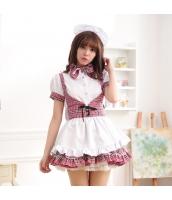 メイド ウェイトレス コスチューム コスプレ ハロウィン 仮装 衣装 4点セット bwn1280-6