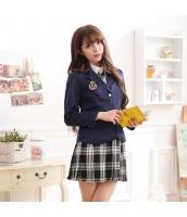 女子高生制服 コスチューム コスプレ ハロウィン 仮装 衣装 4点セット Mサイズ bwn1281-1