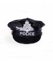 警官 婦警 ポリス 警察 コスプレアイテム・小道具 キャップ 帽子 コスチューム ハロウィン 仮装 衣装 bwn1282-2