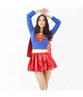 映画 ハロウィン 仮装衣装 コスチューム コスプレ スーパーウーマン 3点セット bwn1283-1