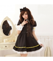 メイド ウェイトレス コスチューム コスプレ ハロウィン 仮装 衣装 5点セット Sサイズ bwn1284-1