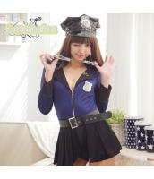 警官 婦警 ポリス 警察 制服 コスチューム コスプレ ハロウィン 仮装 衣装 6点セット bwn1291-2