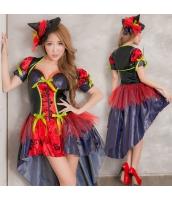 ハロウィン 魔女 コスチューム コスプレ 仮装 衣装 ウィッチ 2点セット bwn1295-1