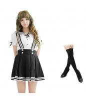 コスチューム コスプレ ハロウィン 仮装 衣装 女子高生制服 セーラー服 3点セット Mサイズ bwn1310-8