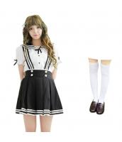 コスチューム コスプレ ハロウィン 仮装 衣装 女子高生制服 セーラー服 3点セット Sサイズ bwn1310-4