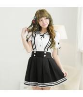 コスチューム コスプレ ハロウィン 仮装 衣装 女子高生制服 セーラー服 2点セット Sサイズ bwn1310-5