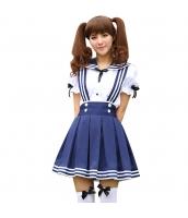 コスチューム コスプレ ハロウィン 仮装 衣装 女子高生制服 セーラー服 2点セット Sサイズ bwn1310-6