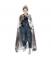 ハロウィン仮装コスチューム 王冠・ティアラ+マント+ステッキ・杖・笏 3点セット hw0004-23