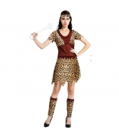 ハロウィン仮装コスチューム インディアン女性 コスプレ 3点セット hw0005-21