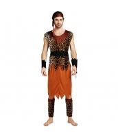 ハロウィン仮装コスチューム インディアン男性 コスプレ 5点セット hw0005-22