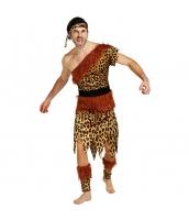 ハロウィン仮装コスチューム インディアン男性 コスプレ 4点セット hw0005-26