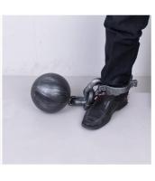囚人コスプレ ハロウィン仮装 コスチューム コスプレ小道具 鉄球重り足枷 hw0008-5