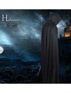 【即納】ハロウィン仮装 死神マント コスチューム コスプレ tk-hw0014-1-bk【カラー:画像参照】【サイズ:フリー】
