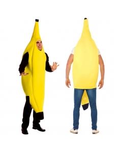 【即納】ハロウィン仮装 コスチューム クラシック バナナ コスプレ tk-hw0035-1-f-ye【カラー:画像参照】【サイズ:フリー】