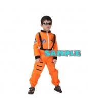 ハロウィン仮装 宇宙飛行士 コスプレ 子供用 Lサイズ 2点セット ジャンプスーツ+シートベルト hw0036-2