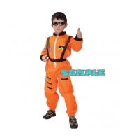 ハロウィン仮装 宇宙飛行士 コスプレ 子供用 XLサイズ 2点セット ジャンプスーツ+シートベルト hw0036-3