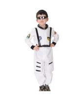 ハロウィン仮装 宇宙飛行士 コスプレ 子供用 Mサイズ 2点セット ジャンプスーツ+シートベルト hw0036-5