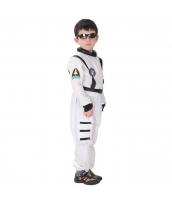 ハロウィン仮装 宇宙飛行士 コスプレ 子供用 Lサイズ 2点セット ジャンプスーツ+シートベルト hw0036-6
