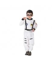 ハロウィン仮装 宇宙飛行士 コスプレ 子供用 XLサイズ 2点セット ジャンプスーツ+シートベルト hw0036-7