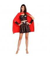 ハロウィン仮装 古代ローマシリーズ コスチューム 女スパルタカス コスプレ グラディエーター hw0039-2