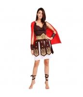 ハロウィン仮装 古代ローマシリーズ コスチューム 女スパルタカス コスプレ グラディエーター hw0039-4