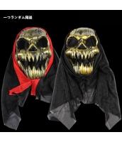 ハロウィン仮装 コスプレ小道具 野戦部隊 髑髏マスク 一つランダム発送 hw0057-14