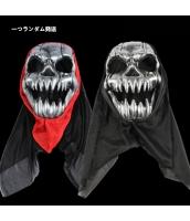 ハロウィン仮装 コスプレ小道具 野戦部隊 髑髏マスク 一つランダム発送 hw0057-15