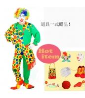 ハロウィン仮装 大道芸人シリーズ ピエロ コスプレ コスチューム hw0059-3