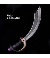 【即納】ハロウィン コスプレ小道具 海賊・パイレーツシリーズ 海賊刀 tk-hw0069-2-gz【カラー:画像参照】【サイズ:フリー】