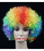 【即納】ハロウィン仮装 パーティウィッグ コスプレ小道具 tk-hw0070-3-f-gz【カラー:画像参照】【サイズ:フリー】