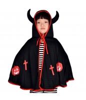 ハロウィン仮装 コスチューム 大人/子供共通 悪魔 マント hw0075-3