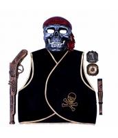 ハロウィン仮装 海賊・パイレーツ 子供コスチューム5点セット hw0093-2
