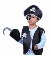 ハロウィン仮装 海賊・パイレーツ 子供コスチューム5点セット hw0093-3