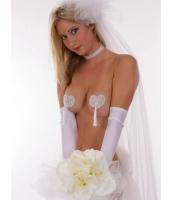 シールブラ ニップレス スイートハート スパンコール 花嫁ニップレス-CC0520
