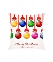 メリークリスマス ボールデコ 枕カバー cc0608-22