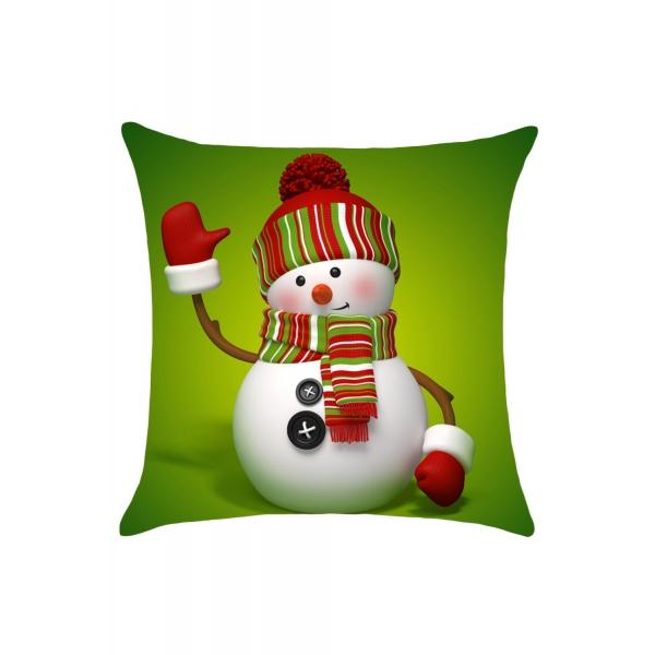 かわいい スノーチャイルド ファッション クリスマス クッションカバー cc0613-1