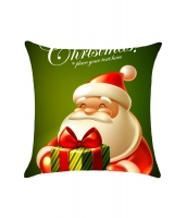 かわいい カートン サンタ クリスマス 枕カバー cc0616-9