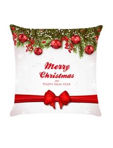 クリスマス ボール 蝶結び ベルト 枕カバー cc0627-1
