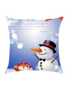 クリスマス 雪だるま 枕カバー cc0642-1