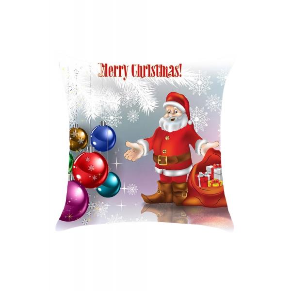 クリスマス & バブル柄 枕カバー cc0648-3