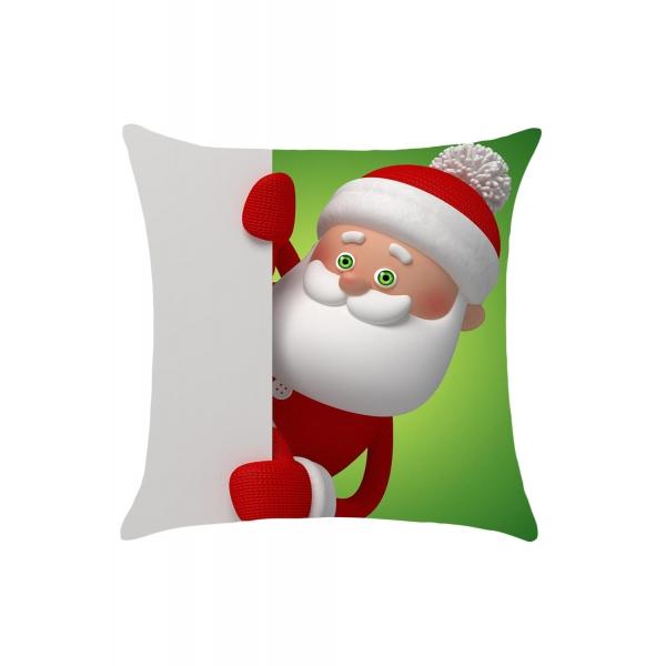 キュート 面白おかしい サンタクロース 枕カバー cc0653-9