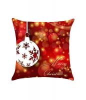 クリスマス バブル柄 四角い 枕カバー cc0658-3